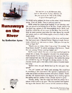 Runaways on the River from Cricket Magazine